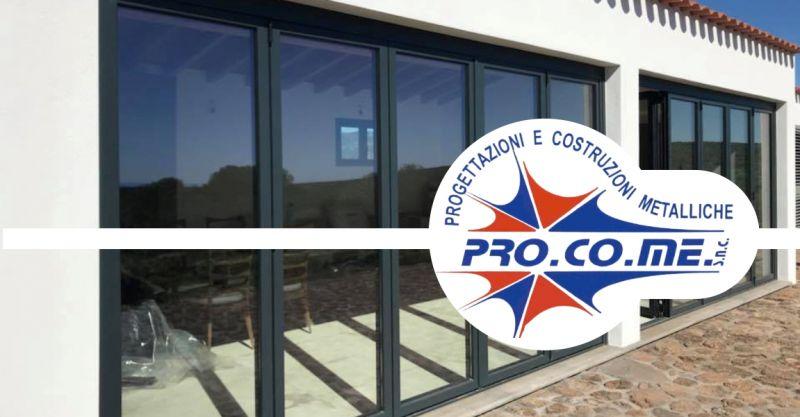 PRO.CO.ME - offerta produzione infissi in pvc alluminio legno Sardegna