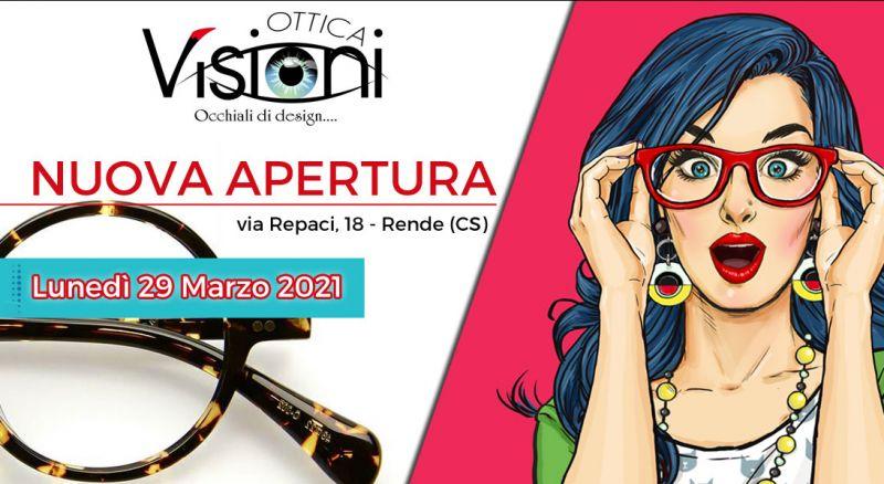 Ottica Visioni - offerta occhiali da sole e da vista rende - promozione negozio ottica rende