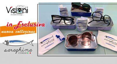 ottica visioni occasione nuova collezione occhiali da vista e da sole saraghina