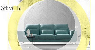 offerta divano dalla linea vintage bergamo occasione divani originali in stile moderno con poggiaschiena bergamo