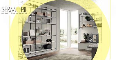 offerta librerie a muro di design bergamo occasione soluzioni di design per librerie bergamo