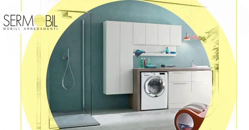 Occasione Idee di Arredo bagno per Lavanderia Bergamo - Occasione arredo bagno mobili per lavatrice Bergamo