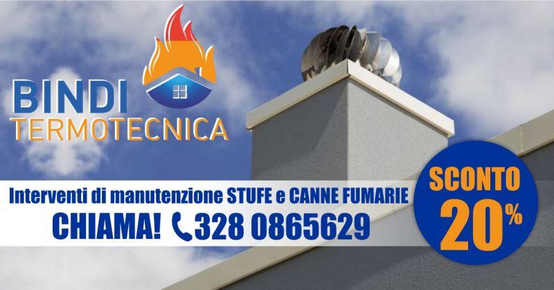 BINDI TERMOTECNICA - offerta interventi rapidi di manutenzione stufe e canne fumarie