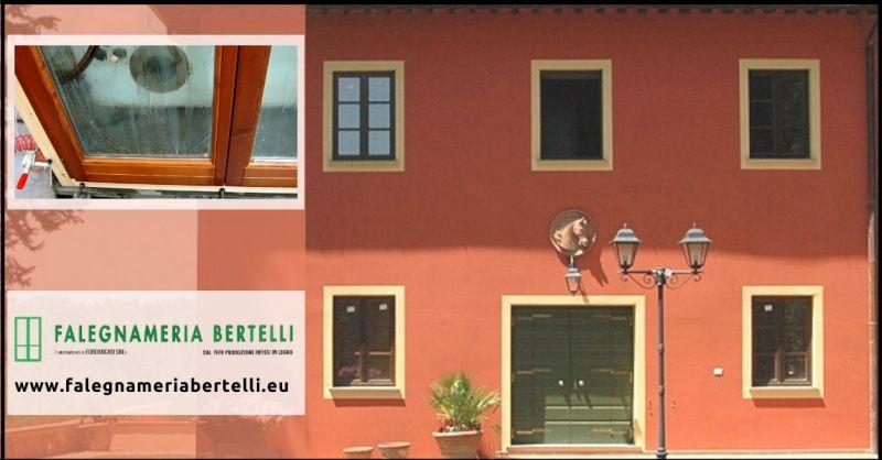 offerta serramenti e  infissi in legno Pisa - occasione falegnameria artigianale Pisa