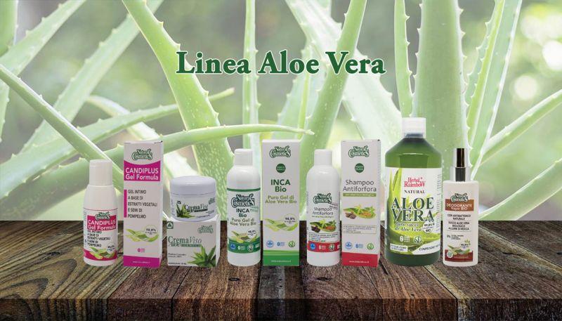 Offerta Vendita Prodotti Naturali Aloe Vera - Occasione Crema Gel Aloe Vera Biologica