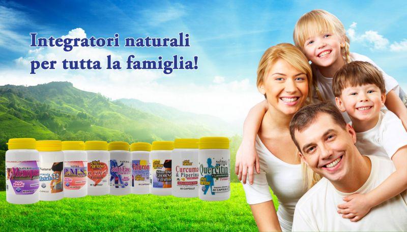 Offerta Vendita Integratori Alimentari Naturali -  Occasione Integratori Naturali Uomo Donna