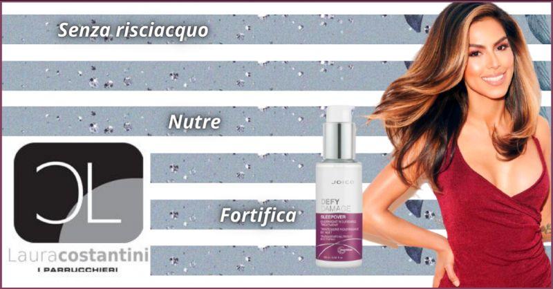 Offerta crema nutriente capelli senza risciacquo Roma - occasione ricostruzione capelli Tivoli