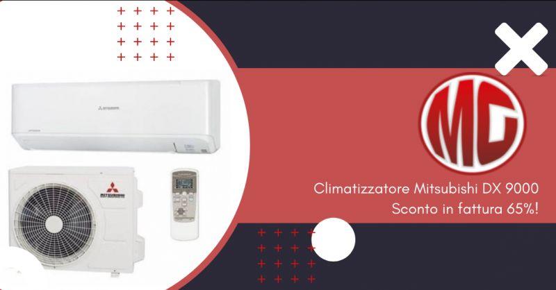 Offerta condizionatori Mitsubishi con sconto in fattura Roma - condizionatori novemila BTU Roma