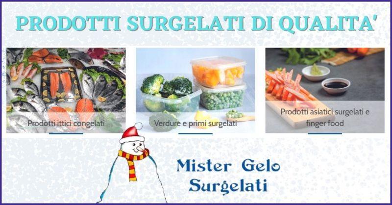 MISTER GELO - promozione prodotti alimentari surgelati e piatti surgelati Lucca e Versilia