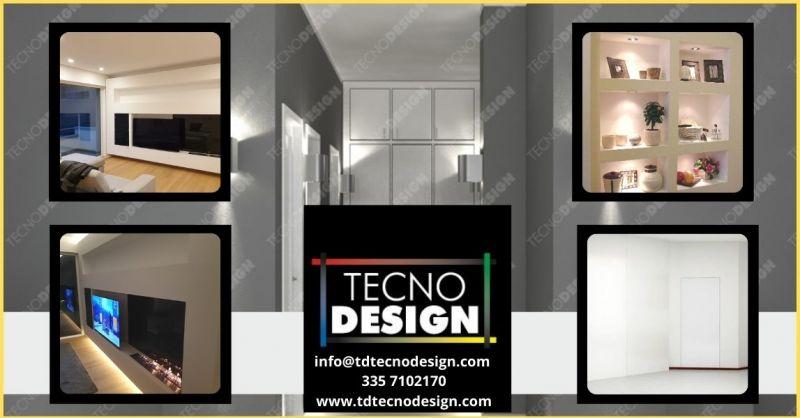 promozione lavorazioni edili in cartongesso Lucca e Firenze - TECNODESIGN