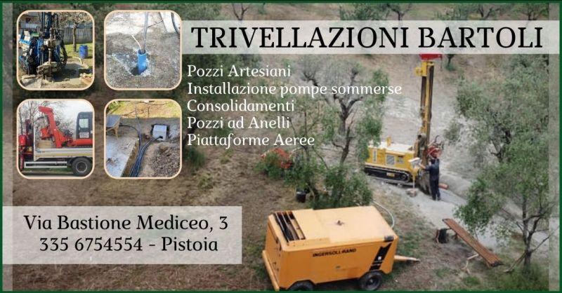 offerta Trivellazioni e perforazioni Pistoia - promozione Noleggio piattaforme aeree Pistoia