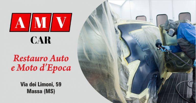 amv car promozione officina restauro auto d'epoca  - offerta carrozzeria restauro moto d'epoca la spezia