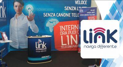 link telecomunicazioni offerta servizi internet a banda larga wireless cosenza