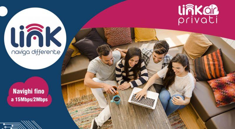 Link Telecomunicazioni - Offerta connessione internet con wifi per la casa cosenza