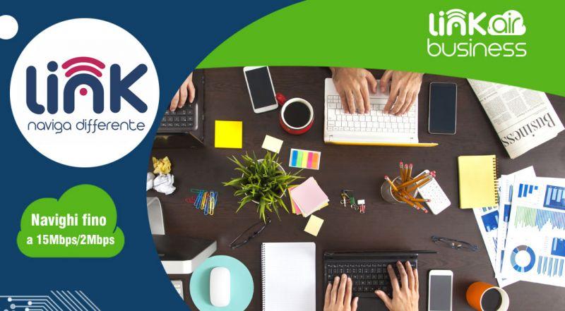 Link Telecomunicazioni - Offerta connessione internet business per azienda cosenza