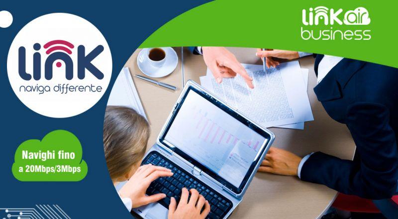 Link Telecomunicazioni - Offerta internet business per azienda cosenza