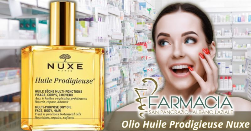 Offerta olio Huile Prodigieuse di Nuxe Albano Laziale - occasione punti vendita Nuxe Roma