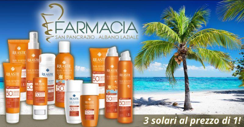 Promozione Rilastil solari Albano Laziale - offerta vendita creme solari Rilastil Roma