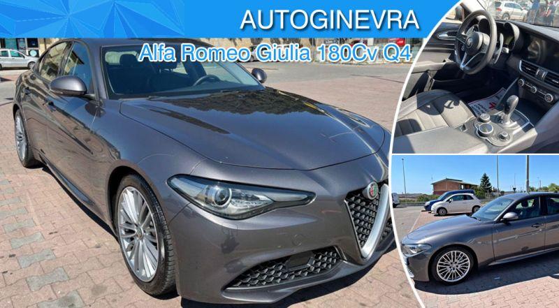 Promozione auto usata Alfa Romeo Giulia reggio calabria - offerte Alfa Romeo Giulia 180Cv Q4 reggio calabria
