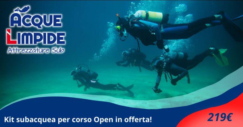 Offerta vendita attrezzatura subacquea Catania - occasione attrezzatura subacquea Siracusa