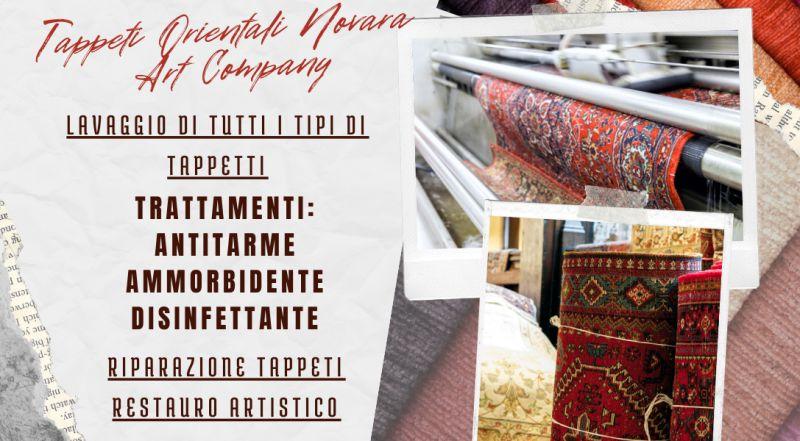 Offerta lavaggio a mano e restauro artistico di tappetti orientali persiani e tappeti moderni a Novara – occasione vendita di tappeti orientali o moderni a Novara