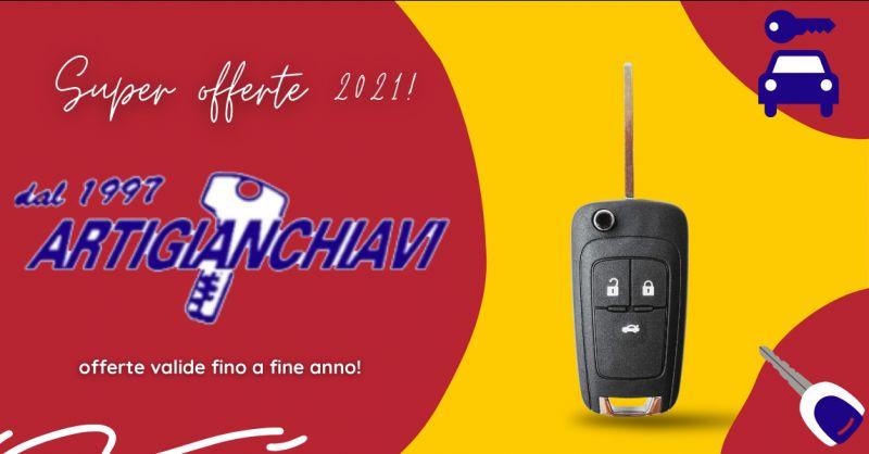 Offerta chiavi auto Aprilia - occasione duplicazione riparazione di chiavi auto Castelli Romani