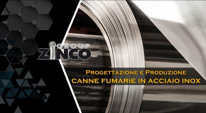 Zinco Group - progettazione e produzione canne fumarie in acciaio inox made in italy