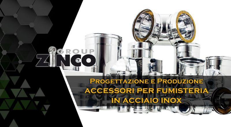 Zinco Group - occasione produzione accessori per canne fumarie in acciaio inox