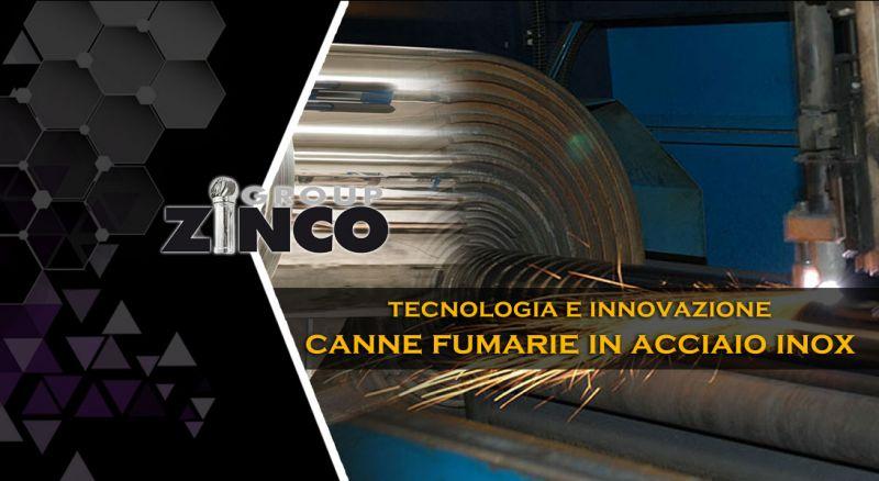 Zinco Group - occasione produzione canne fumarie acciaio inox e accessori per fumisteria
