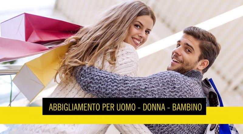 Offerta vendita online abbigliamento uomo donna - promozione vendita online abbigliamento donna e bambino