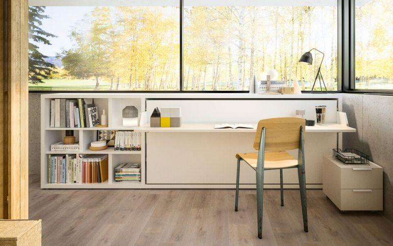 offerta letto salvaspazio Clei Roma - occasione letto trasformabile con scrivania smart working