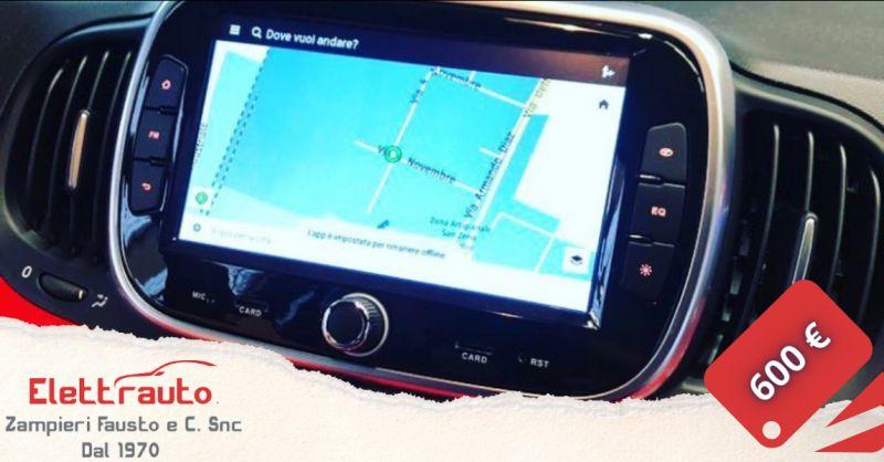 Offerta monitor per auto San Zeno Naviglio - occasione installazione monitor auto wifi Brescia