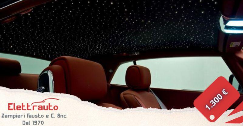 Offerta cielo stellato per auto Brescia - occasione kit cielo stellato auto San Zeno Naviglio