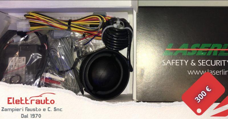 Offerta antifurto allarme modulare per auto Brescia - occasione allarme moto San Zeno Naviglio