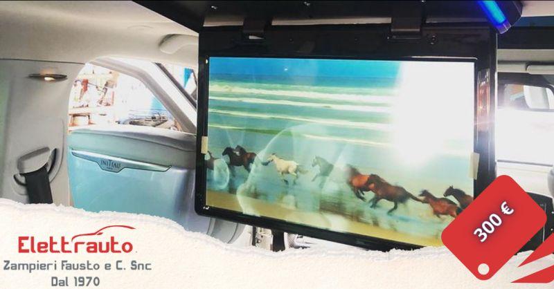 Offerta monitor da soffitto con lettore DVD Brescia - occasione monitor lettore USB San Zeno