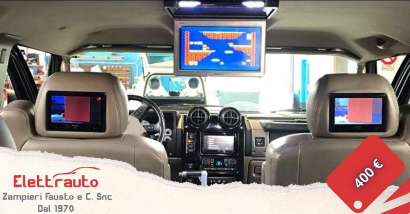 Offerta monitor DVD per poggiatesta auto Brescia - occasione monitor poggiatesta auto San Zeno