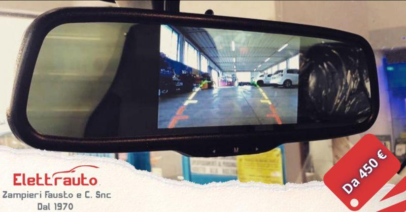 Offerta specchietto retrovisore telecamera posteriore - occasione specchietto monitor San Zeno