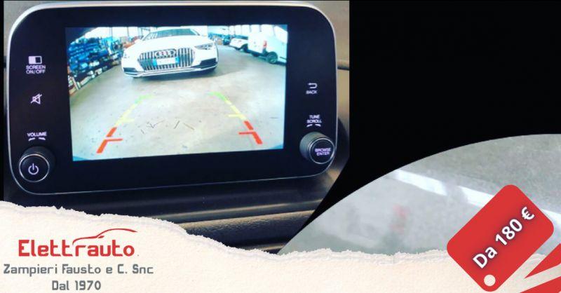Offerta telecamera di parcheggio Brescia - occasione telecamera per auto San Zeno Naviglio