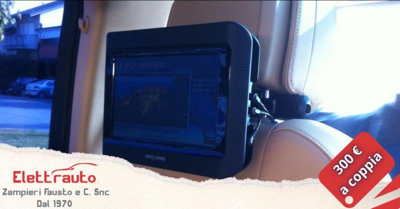 Offerta monitor nextbase da poggiatesta Brescia - occasione monitor da poggiatesta San Zeno