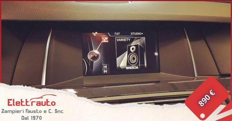 Offerta autoradio BMW Brescia - occasione autoradio Android BMW serie cinque San Zeno Naviglio