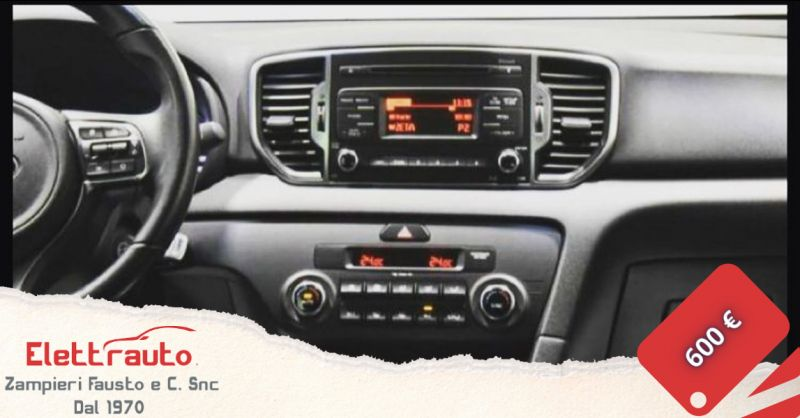 Offerta vendita autoradio Android Kia Sportage Brescia - occasione radio Kia Sportage San Zeno