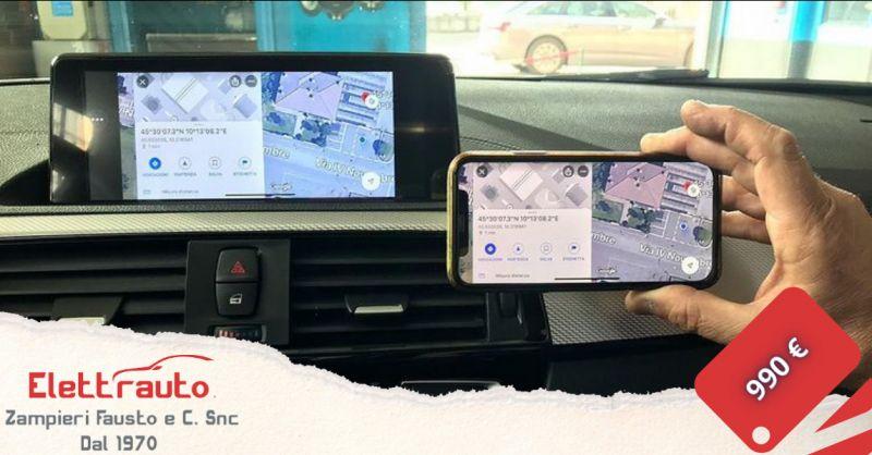 Offerta radio per BMW serie uno Brescia - occasione montaggio autoradio Android BMW San Zeno