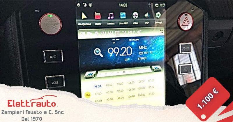 Offerta autoradio Ford Mustang Brescia - occasione autoradio Android Ford Mustang San Zeno