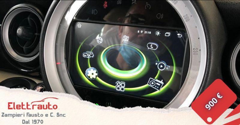 Offerta autoradio Mini Cooper Brescia - occasione autoradio Android per Mini Cooper San Zeno