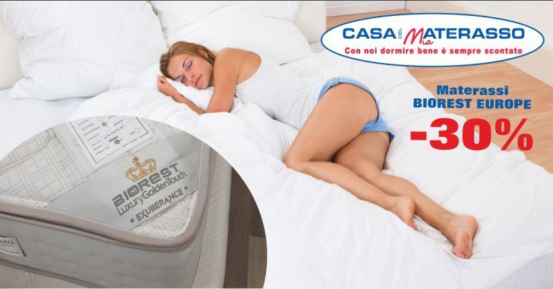 offerta vendita materassi biorest europe lodi - occasione negozio vendita materassi biorest piacenza