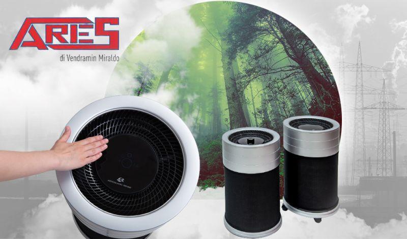 Offerta Vendita purificatore aria AEROGUARD SENSE Thiene - Occasione Rivenditori purificatori aria marchio Lux a Shio