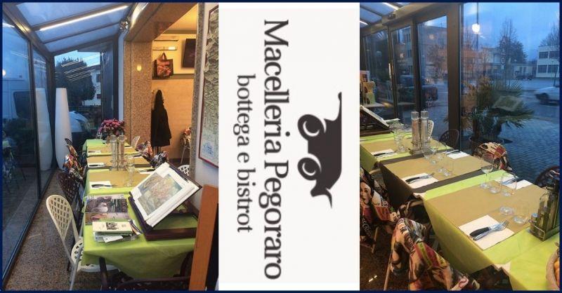 Macelleria Pegoraro - Occasione BISTROT negozio con spazio per la ristorazione Barbarano