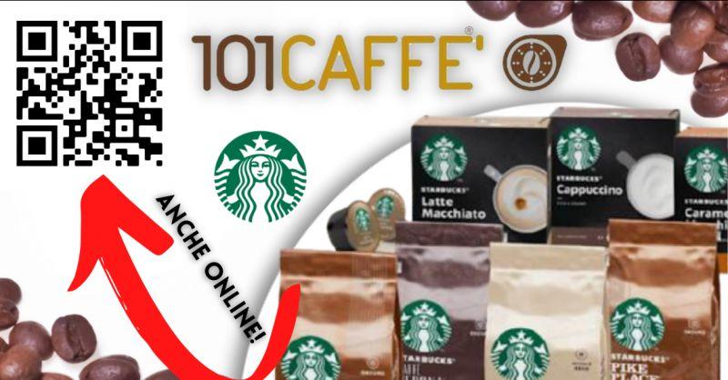 CENTOUNO CAFFE -  Offerta vendita prodotti Starbucks Catania