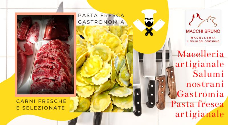 Occasione macelleria e gastronomia pasta fresca fatta in casa a Novara  – offerta vendita specialità  regionali carne italiana a Novara