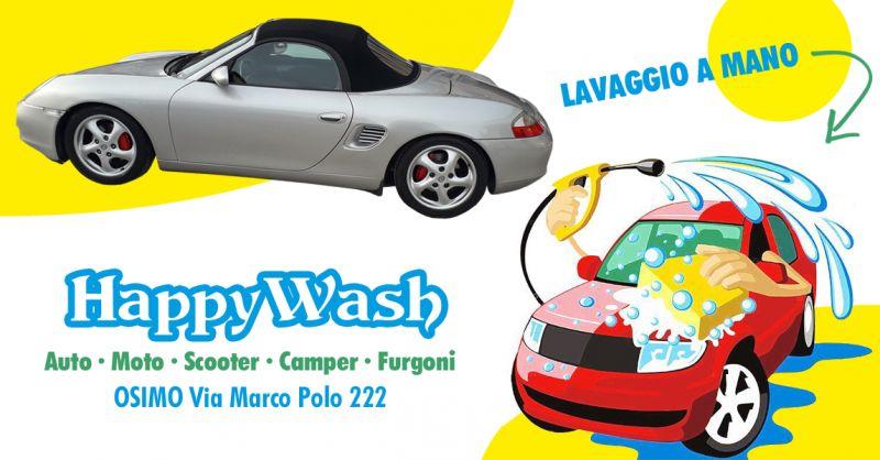 Offerta Autolavaggio Pulizia Tappezzeria Auto Osimo - Occasione Lavaggio a Mano Auto Scooter Furgoni Osimo